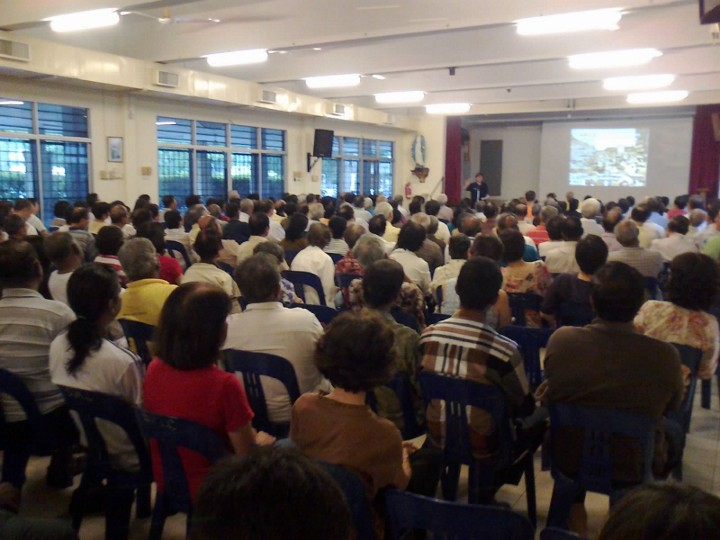 Good attendance at GE13 forum