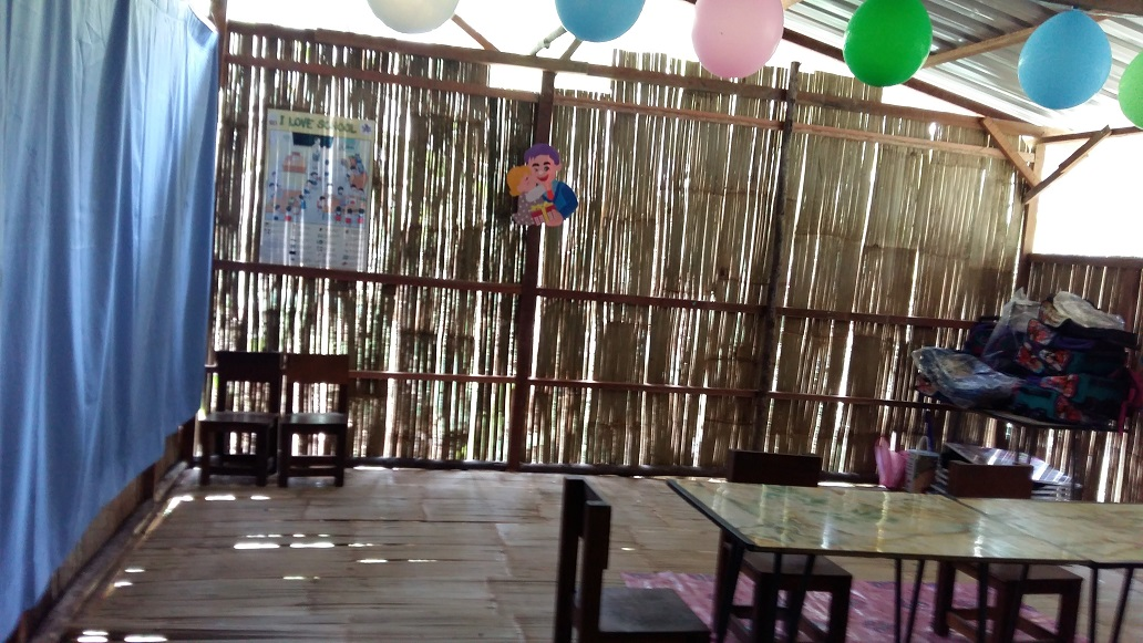 Other classroom at new Kg Sekam pre-school