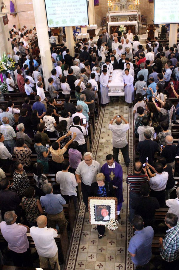Funeral Mass of Brother Vincent Corkery