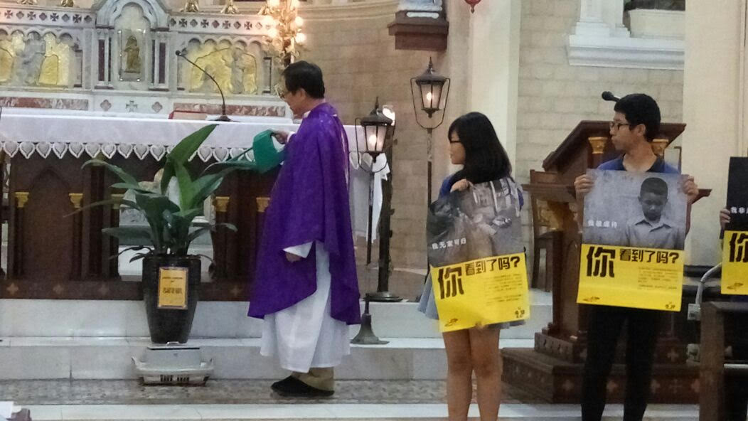 Launch of Lenten Campaign at SMC Chinese mass