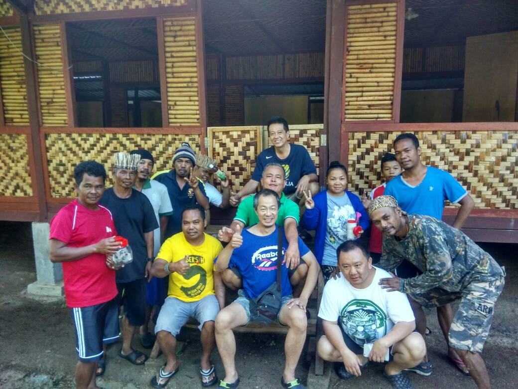 SOA Survey & Mobilisation team with Orang Asli friends at new Pos Kemar Community Hall